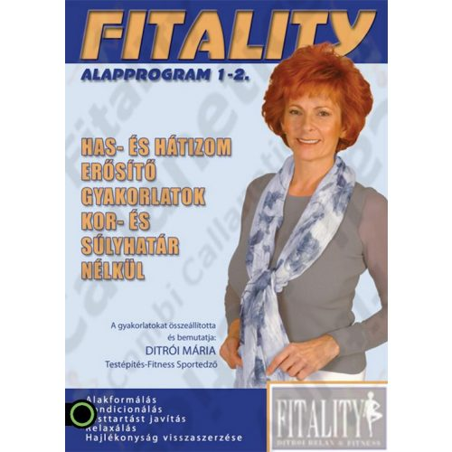 Fitality 1-2. DVD