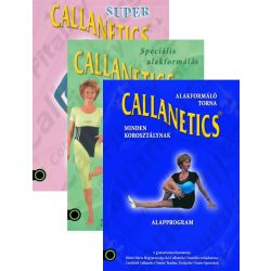 Callanetics DVD csomag
